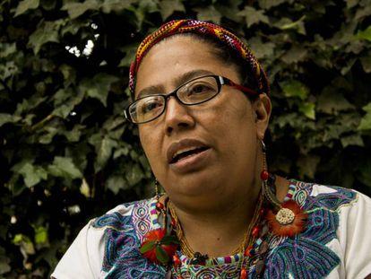 Lorena Cabnal, maya-xinka de Guatemala, es una defensora del feminismo comunitario