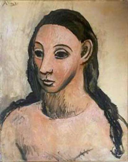 'Cabeza de mujer joven', de Pablo Picasso.