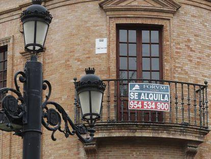 Vivienda en alquiler en Sevilla.