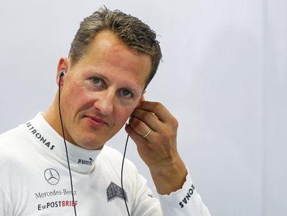 Michael Schumacher, en una imagen 2012.