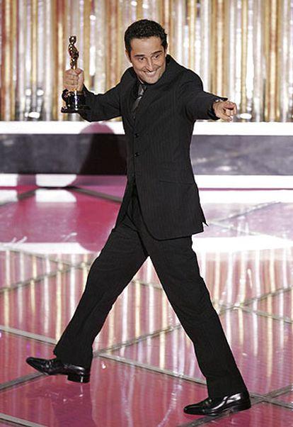 Jorge Drexler, tras recoger el Oscar a la mejor canción original.