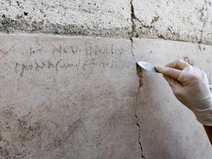 El hallazgo de una inscripción hecha a carboncillo demuestra que la erupción del Vesubio tuvo lugar el 24 de octubre y no el 24 de agosto