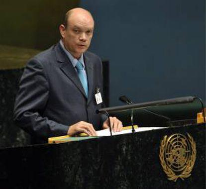 El ministro de Comercio Exterior e Inversión Extranjera de Cuba, Rodrigo Malmierca Díaz. EFE/Archivo