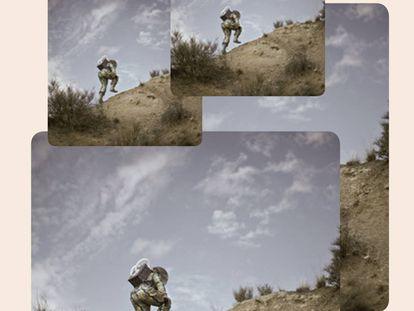 'Hamba', montaje de la fotógrafa Cristina de Middel para su fotolibro 'Muchismo'.