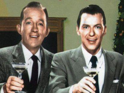 Frank Sinatra y Bing Crosby.