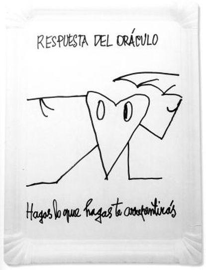 Pieza de la serie 'Las bandejitas'