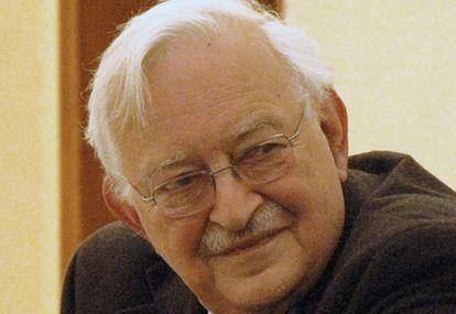 Immanuel Wallerstein en San Petersburgo, en 2008