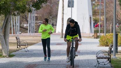 Coger la bicicleta para todo menos para ir al médico