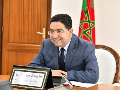 Naser Burita, ministro de Exteriores de Marruecos, en una imagen facilitada por su propio ministerio.
