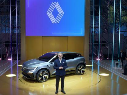 El director general de Renault, Luca de Meo, en el mes de octubre en Francia.