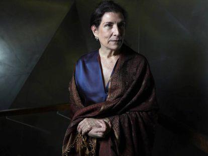 La periodista Alma Guillermoprieto, en Madrid en mayo de 2017, cuando ganó el Premio Ortega y Gasset a la Trayectoria profesional.