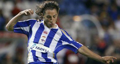 El mexicano del Deportivo, Andrés Guardado.