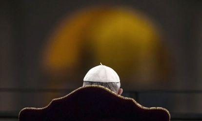 El Papa, este Viernes Santo en Roma.