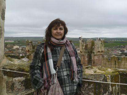 Juana Ruiz, cooperante española detenida en Israel.