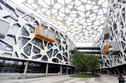 El interior de Alibaba.