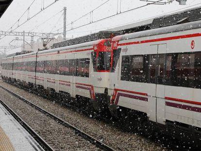 Inauguración de la estación de Cercanías Mirasierra-Paco de Lucía en Madrid el pasado lunes.