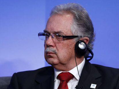 El ministro de Defensa de Uruguay, Jorge Menéndez, en septiembre de 2016.