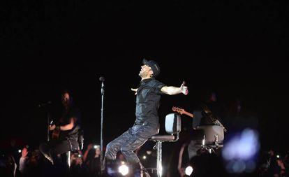 Enrique Iglesias actúa en un concierto en la Ciudad de Durango (México), el pasado 5 de agosto.