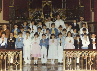 Luis Rojo y José Miguel San Martín, en una fotografía de 1983.