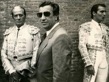 Antoñete, Juan Antonio Arévalo y El Yiyo, el 18 de mayo de 1985, en Las Ventas.