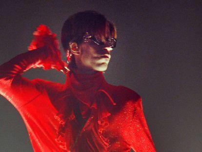 Prince, en agosto de 1998 en una actuación en París.