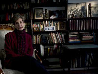 Isabel Allende, durante una entrevista en agosto de 2013.