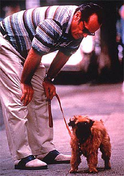 Jack Nicholson interpreta un personaje obsesivo en la película <i>Mejor imposible.</i>