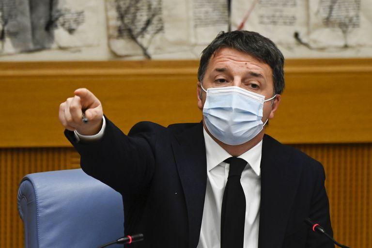 Matteo Renzi, líder de Italia Viva, en la Cámara de Diputados italiana el pasado miércoles en Roma.