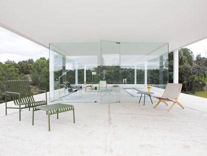 Casa de Blas, de Alberto Campo Baeza, en Sevilla la Nueva (Madrid), una de las que se podrá visitar durante el Open House.