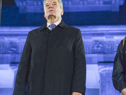 Joachim Gauck, en el aniversario de la caída del Muro