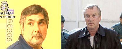 Guenadi Petrov, detenido en Palma de Mallorca y Zakhar Kalashov, un jefe de la mafia rusa, detenido en 2006.
