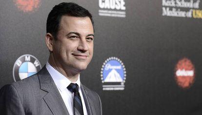 El humorista estadounidense es el presentador de 'Late Night With Jimmy Kimmel'.