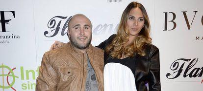 Kiko Rivera y su mujer Irene Rosales en un evento en Madrid en 2016.