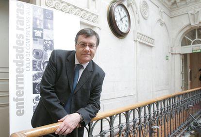 Francesc Palau, director del centro de investigación biomédica en red de enfermedades raras, ayer en Bilbao.