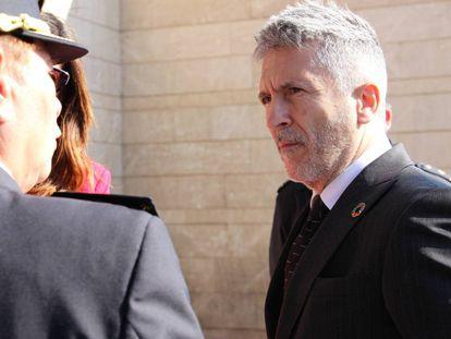 El ministro del Interior, Fernando Grande-Marlaska, responsable de la política migratoria.