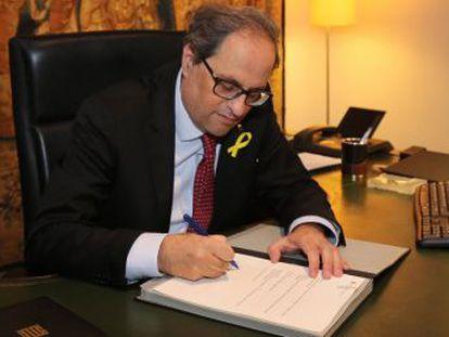 El Gobierno del PP había anunciado poco antes que no publicaría los nombres iniciales en el DOGC