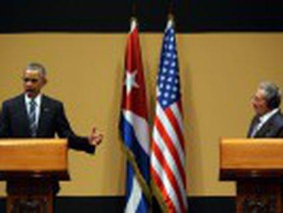 """""""El embargo va a terminar, lo que no puedo decir con seguridad es cuándo"""", dice el presidente de Estados Unidos"""