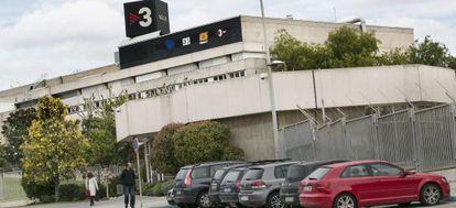 Instalaciones de TV-3 en Sant Joan Despí.