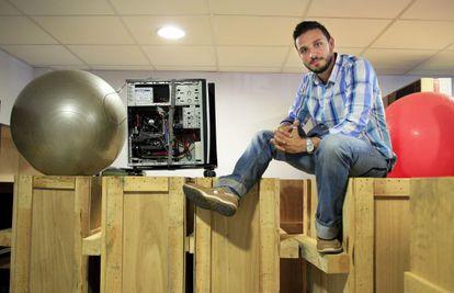 El creador de Airfit, el madrileño Nacho Larriba.