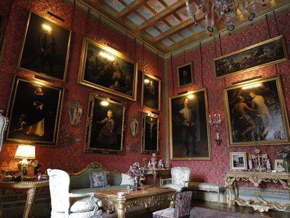 Palacio de Liria (Madrid). Pasará a manos de Carlos Fitz-James Stuart, duque de Huéscar.