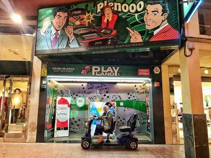 Salón de juegos de Benidorm en una imagen reciente.