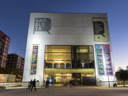 El edificio de La Rambleta, en Valencia.