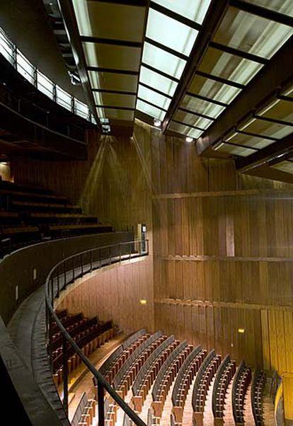 Una de las salas del Teatro Auditorio de San Lorenzo de El Escorial.