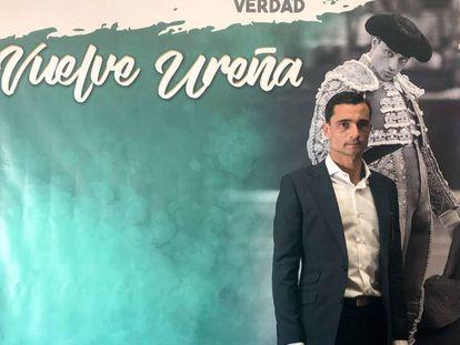 Paco Ureña, el día del anuncio de su reaparición en Valencia.