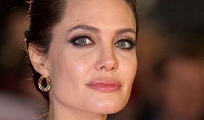 Angelina Jolie en noviembre en la presentación de su última película 'Invencible'.