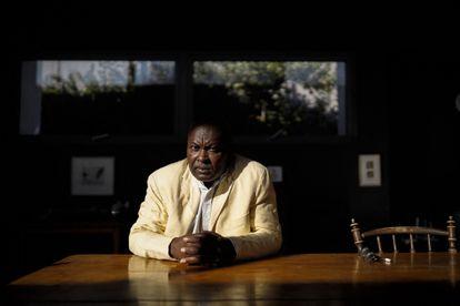 El filósofo camerunés Achille Mbembe, en mayo en Johannesburgo.