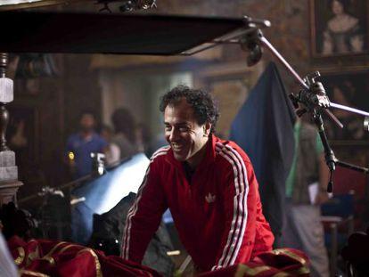 Matteo Garrone, en el rodaje de 'El cuento de los cuentos'.