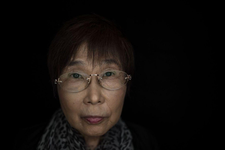 Keiko Ogura, de 78 años, víctima de la bomba nuclear que arrasó Hiroshima, en una imagen tomada en 2015.