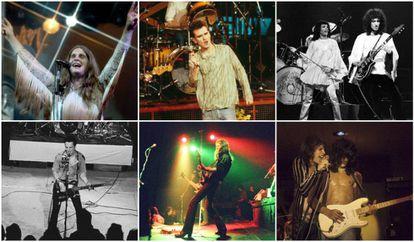 La primera vez sobre el escenario de Black Sabbath, The Smiths, Queen, The Clash, Motörhead y Aerosmith no auguraba el exito que poco después les haría un hueco en la historia de la música.