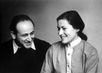 Paul y Gisèle Celan, en 1956 (colección de Eric Celan).